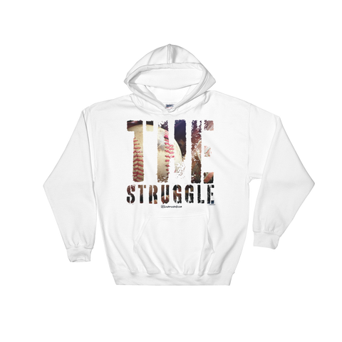 The Struggle Baseball/Softball - Soft Comfort Fit Adult Hoodie