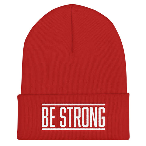 Be Strong - Soft Warm Beanie