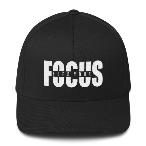 Feed Your Focus - Flexfit Fitted Hat
