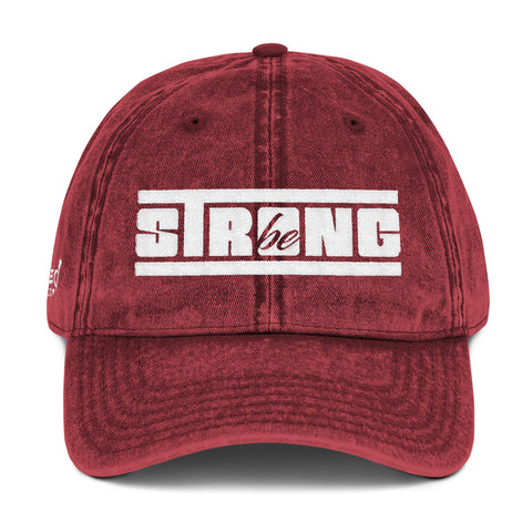 Be Strong - Vintage Cap