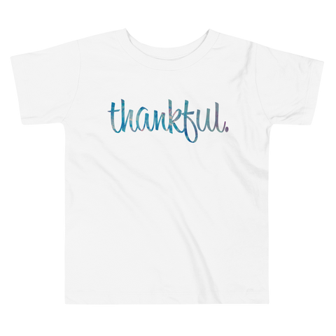 Thankful - Toddler Comfy T Shirt