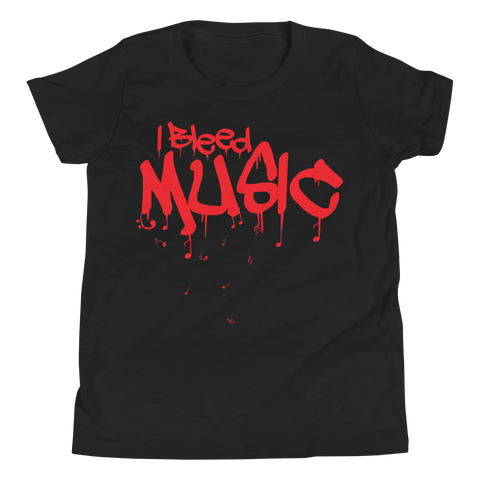 I Bleed Music - Kids Favorite Fit T Shirt