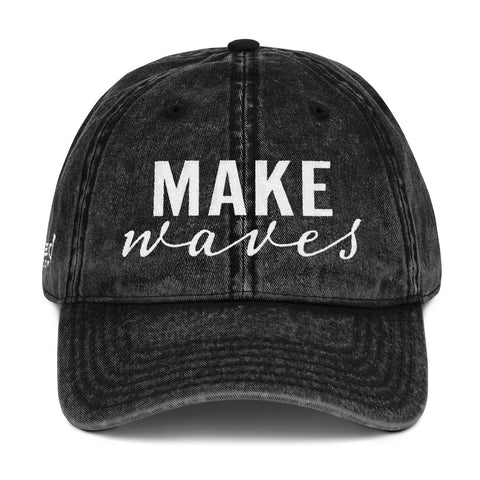 Make Waves - Vintage Cap