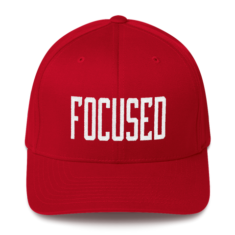 Focused - Flexfit Fitted Hat