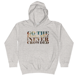 Go The Extra Mile - Kids Soft Comfy Fit Hoodie