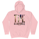 The Struggle Baseball/Softball - Kids Soft Comfy Fit Hoodie