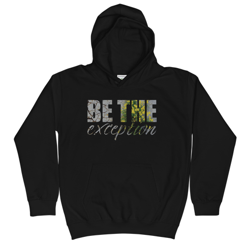 Be The Exception - Kids Soft Comfy Fit Hoodie