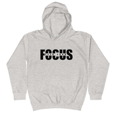 Feed Your Focus - Kids Soft Comfy Fit Hoodie