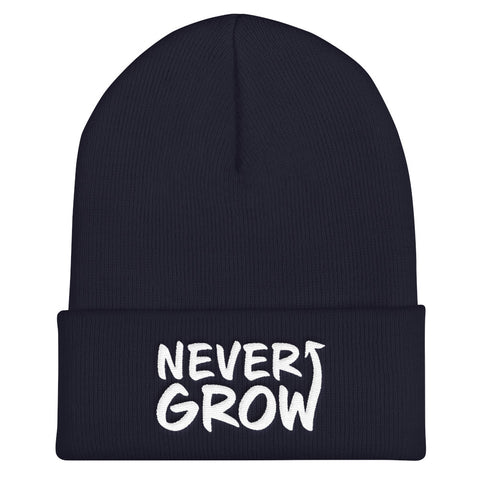 Never Grow Up - Soft Warm Beanie
