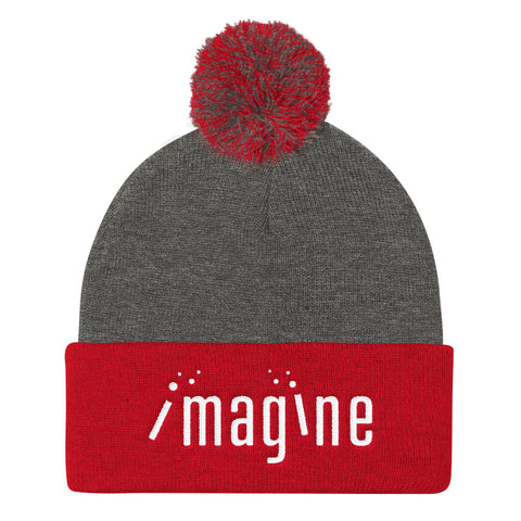 Imagine - Pom Pom Knit Cap