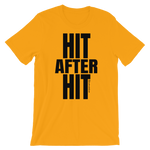 Hit After Hit (Baseball/Softball) - Favorite Fit Adult T Shirt