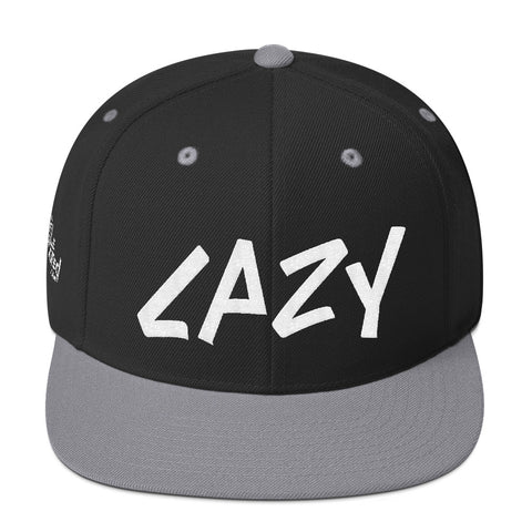 Lazy - Flat Bill Snapback Hat