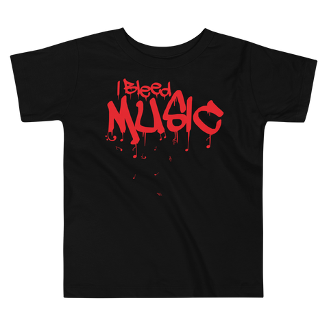 I Bleed Music - Comfy Toddler T Shirt