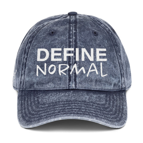 Define Normal - Vintage Cap