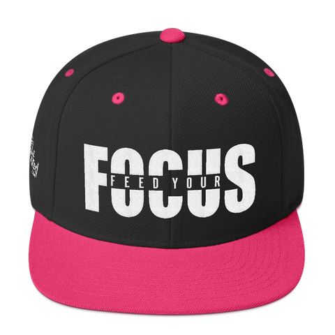 Feed Your Focus - Flat Bill Snapback Hat
