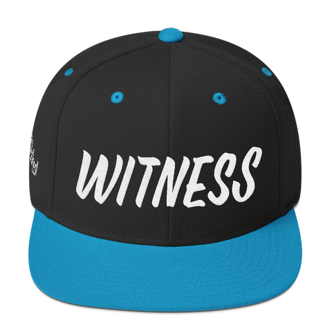 Witness - Flat Bill Snapback Hat