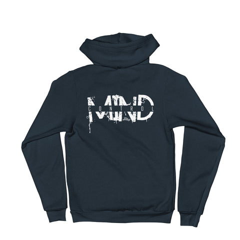 Mind Control - Adult Zip Up Hoodie Soft Warm