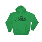 Live Think Create - Soft Comfort Fit Adult Hoodie