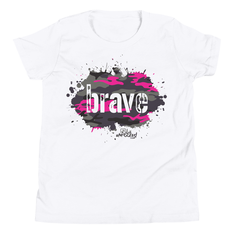 Brave Camo Pink - Kids Favorite Fit T Shirt