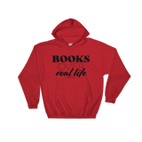 Books Over Real Life - Adult Soft Comfort Fit Hoodie