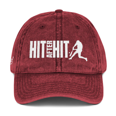 Hit After Hit (Baseball/Softball) - Vintage Cap