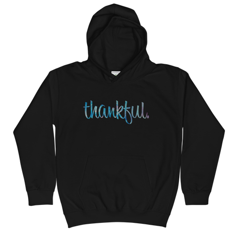 Thankful - Kids Soft Comfy Fit Hoodie