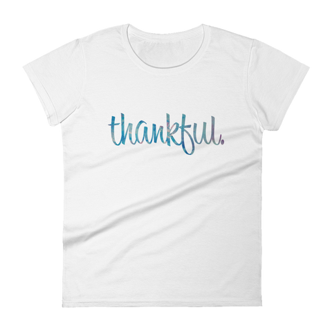Thankful - Womens Fashion Fit T Shirt