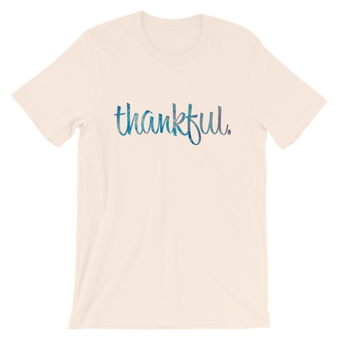 Thankful - Favorite Fit Adult T Shirt