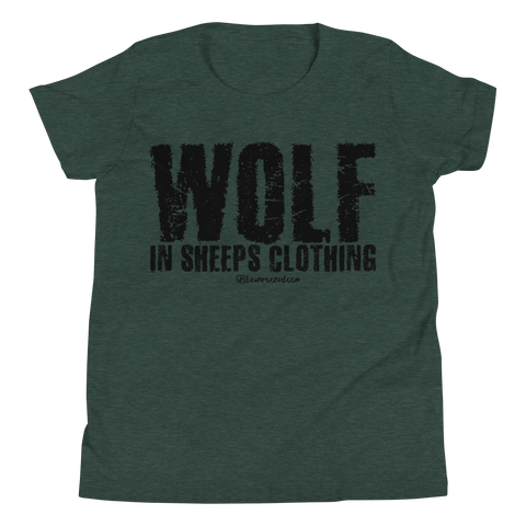 Wolf In Sheeps Clothing - Kids Favorite Fit T Shirt