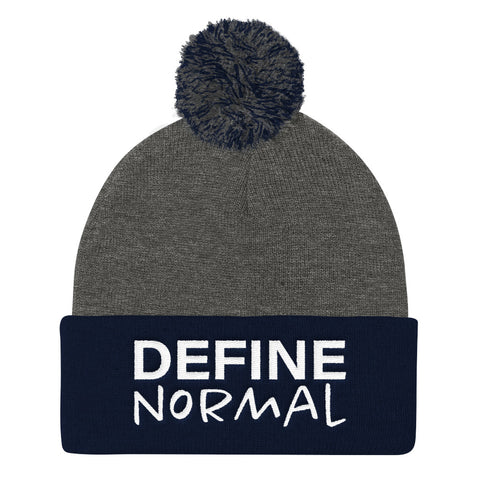 Define Normal - Pom Pom Knit Cap