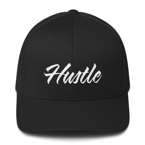 Hustle - Flexfit Fitted Hat