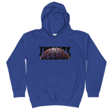 Therapy Session Basketball - Soft Comfy Fit Kids Hoodie