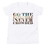 Go The Extra Mile - Kids Favorite Fit T Shirt