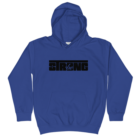Be Strong - Kids Soft Comfy Fit Hoodie