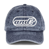 and? - Vintage Cap