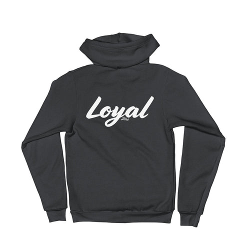 Loyal - Adult Zip Up Hoodie Soft Warm