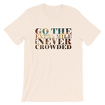 Go The Extra Mile - Adult Favorite Fit T Shirt