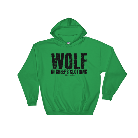 Wolf In Sheeps Clothing - Soft Comfort Fit Adult Hoodie