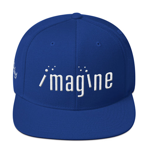 Imagine - Flat Bill Snapback Hat