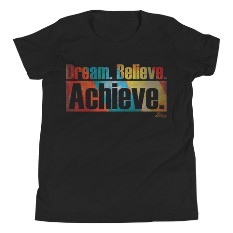 Dream. Believe. Achieve. - Kids Favorite Fit T Shirt