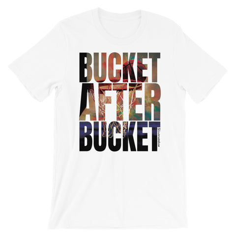 Bucket After Bucket (Basketball) - Adult Favorite Fit T Shirt