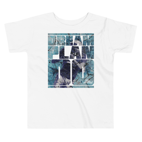 Dream Plan Do (Football) - Toddler Comfy T Shirt