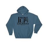 I Woke Up This Handsome - Adult Soft Comfort Fit Hoodie