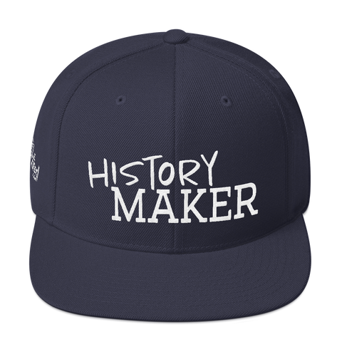 History Maker - Flat Bill Snapback Hat