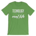 Technology Over Real Life - Adult Favorite Fit T Shirt