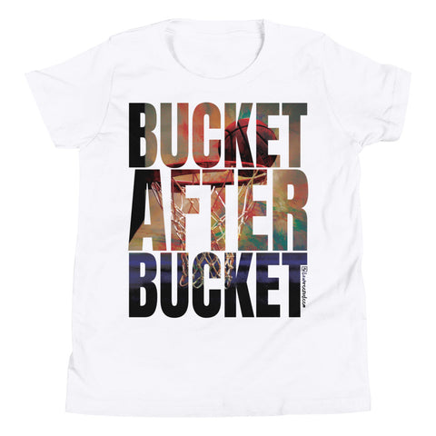 Bucket After Bucket (Basketball) - Kids Favorite Fit T Shirt