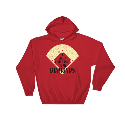 I Like A Little Dirt On My Diamonds - Adult Soft Comfort Fit Hoodie