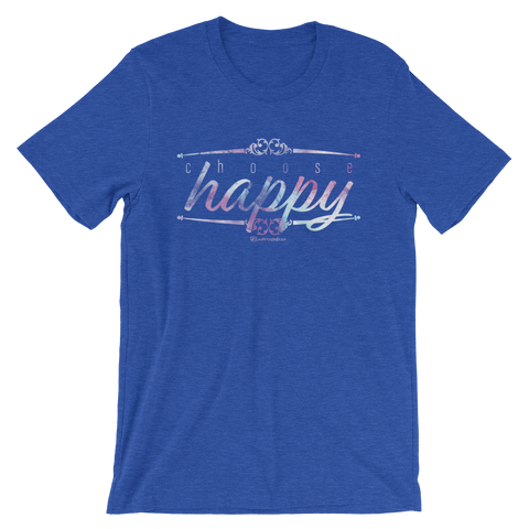 Choose Happy - Adult Favorite Fit T Shirt