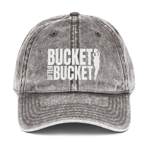 Bucket After Bucket - Vintage Cap