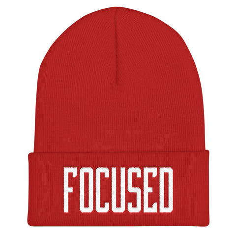 Focused - Soft Warm Beanie